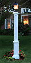 Vinyl Signature Lamp Post (Fixture not Included)